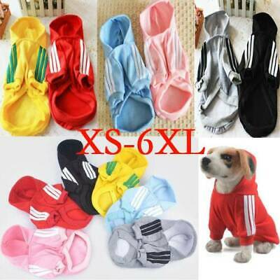 NEW Pet Coat Dog Jacket Winter Clothes Puppy Cat Sweater Cute Clothing Apparel☆
