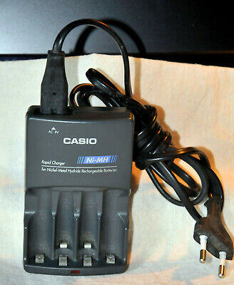 CASIO BC 2H RAPID Charger Ni MH Schnellladegerät FOR SALE