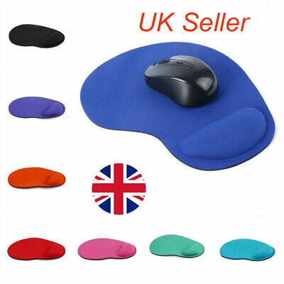 Anti-Slip Mouse Pad Mouse Mat with Wrist Support For PC Laptop Macbook Desk