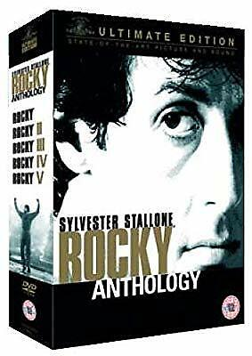 The Rocky Anthology (Ultimate Edition 6 Disc Box Set) (5.1/DTS) [DVD] [2005], ,