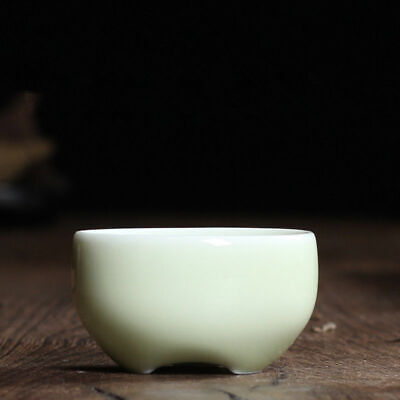 2pcs longquan celadon porcelain tea cup marked brother kiln crackle glaze cups20