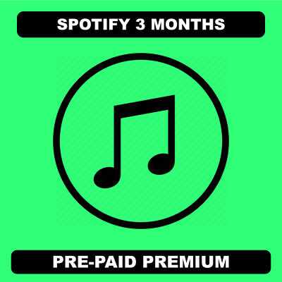 Spotify 3 months | Read Description | Instant Delivery