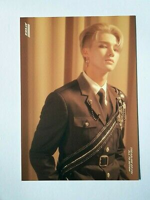 "ATEEZ WOOYOUNG Official Postcard - Official ""TREASURE EP.FIN : All To Action"""