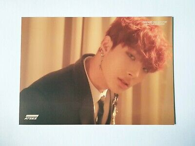 "ATEEZ MINGI Official Postcard - Official ""TREASURE EP.FIN : All To Action"""