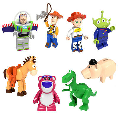 NEW Toy Story Buzz Lightyear Mini Figures Building Blocks Collection Gifts Toys