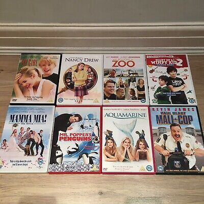 DVD Bundle / Joblot X 9 FAMILY MOVIE BUNDLE films My Girl Mama Mia! PG & U Cert