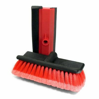Replacement Brush Head & Squeegee Telescopic Water Fed Window Car Wash Brushes