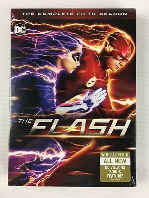 The Flash - Complete Fifth Season (DVD, 2019) NEW