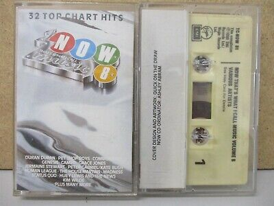 NOW THATS WHAT I CALL MUSIC 8- DOUBLE CASSETTE TAPE 1986 Genesis Kate Bush Duran