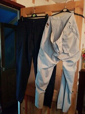 Two pairs of Mens outdoor combat trousers size  44/ 33