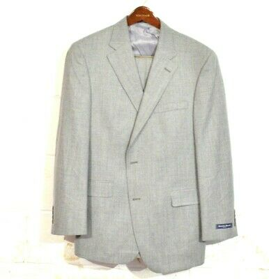 NEW Austin Reed 44R / 38 Gray Heather Fairfield 2 Button USA Recent Suit