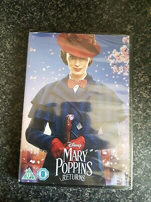 Mary Poppins Returns Dvd Brand New Sealed
