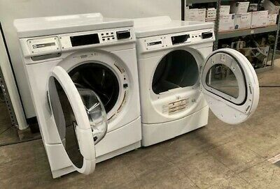 Maytag Commercial Front Load Washer/Dryer *PAIR* DOUBLE LOAD, OPL [USED]