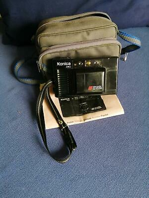 KONICA MG COMPACT 35mm FILM CAMERA - HEXANON f3.5  Point & Shoot with Carry Case