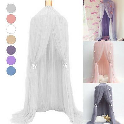 Dome Princess Bed Canopy Mosquito Net Child Play Tent Curtain For Baby Room AE