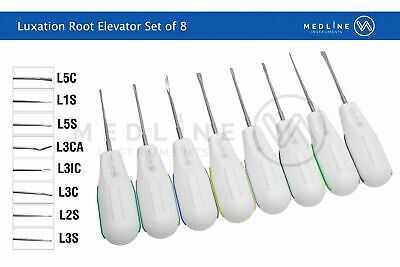 Dental Surgical Luxating Elevators Root Extraction Surgical Elevators