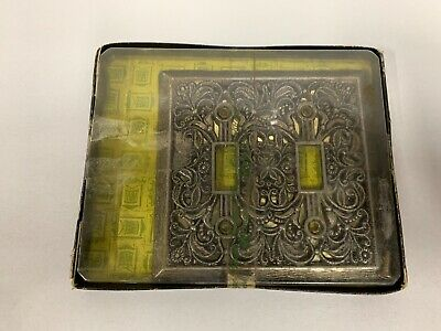 UNUSED Vtg Amerock Carriage House Light Switch Cover Plate Antique English (A5)