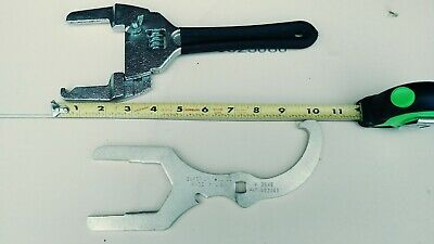 Superior Tool Adjustable Plumbing Wrench #03840 And #3845 Wrench  Usa