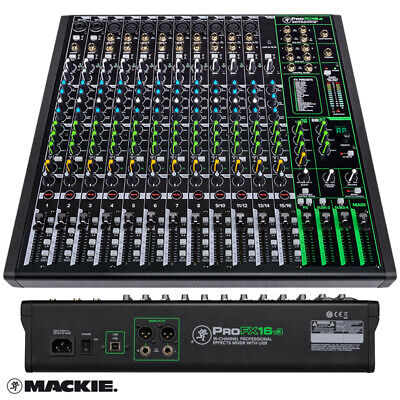 Mackie ProFX16 V3 Compact 16 Channel Mixer with USB and Effects Mixing Desk