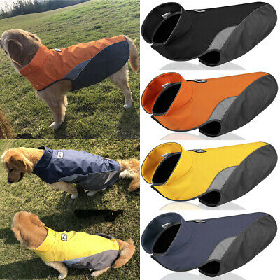 Medium Large Dog Coat Waterproof Warm Jackets Winter Clothes for Pets Reflective