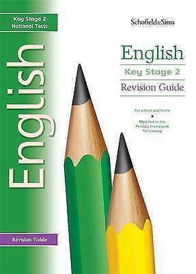 Revision Guide for Key Stage 2 English by Carol Matchett, Acceptable Used Book (