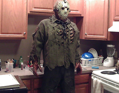 New Blood Jason CHAIN ONLY Myers Prop Halloween Friday the 13th NOT Mask Costume