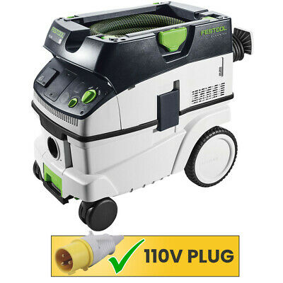 Festool CLEANTEX CTL26 E GB 110V Mobile Dust Extractor with Accessories 574950
