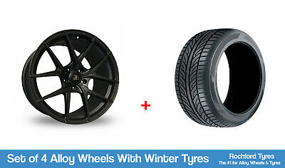 """AC Winter Alloy Wheels & Snow Tyres 18"""" For Renault Fluence 10-19"""
