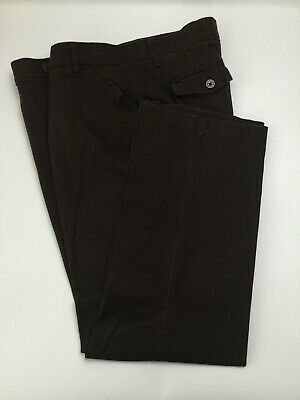 Women's Lee Sinfully Soft BootLeg Casual  Style Pants, Size 18M, Brown