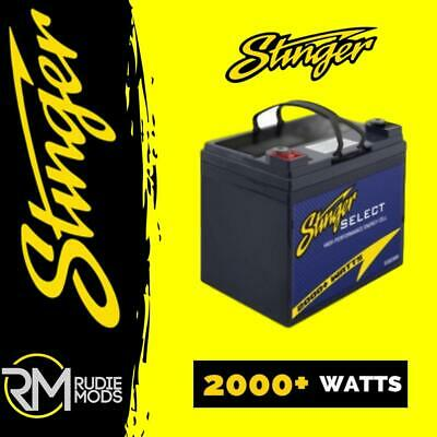 Stinger SSB2000 / 2000W High Performance Car Audio Battery Authorised Dealer