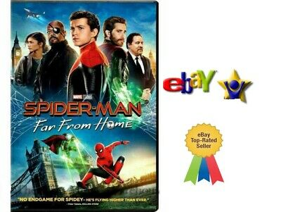 SPIDERMAN-FAR FROM HOME- DVD - Brand New Factory Sealed - 2019