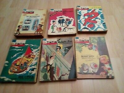 LOT DE 70 JOURNAL TINTIN ENTRE LE N° 700 et 800