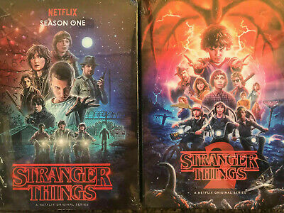 STRANGER THINGS SEASON 1+2 DVD  NETFLIX Season 1 2 free shipping