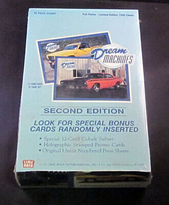 1992 Lime Rock Dream Machines Trading Card Pack