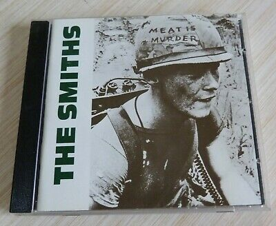 Cd Album Meat Is Murder The Smiths 10 Titres 1985 Made In Germany