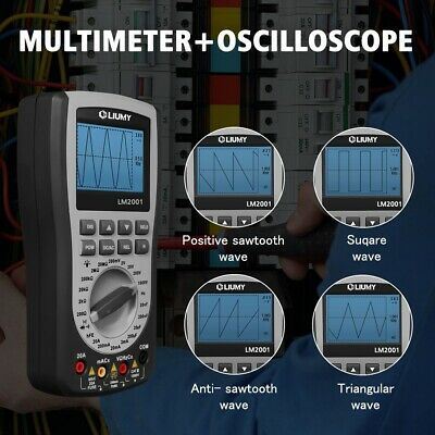 MSTOOL MT8205 Digital Intelligent Storage Oscilloscope Multimeter Diode Handheld