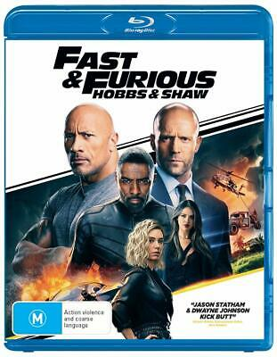 FAST & FURIOUS PRESENTS: HOBBS AND SHAW (2019): Action, Spinoff - Au RgB BLU-RAY