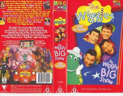 The Wiggles Wiggly Big Show Vhs Video Pal~ A Rare Find