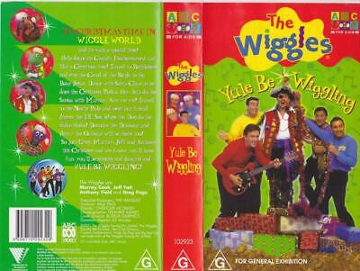 The Wiggles Yule Be Wiggling    Vhs Video Pal~ A Rare Find