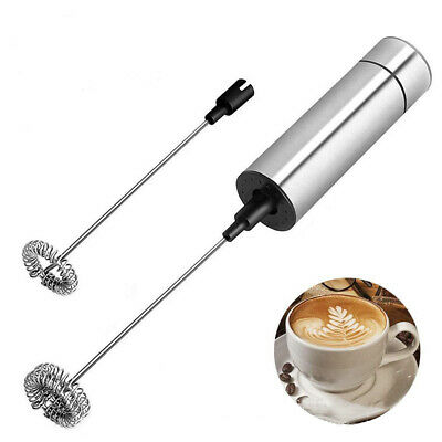 Electric Milk Frother Drink Handheld Foamer Whisk Mixer Egg Beater Stirrer Tool