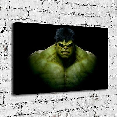 """16""""x28"""" Avengers Hulk HD Canvas prints Painting Home decor Picture Room Wall art"""
