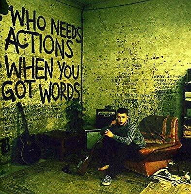Who Needs Actions When You Got Words, Plan B, Used; Good CD