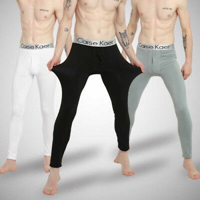 Men Outdoor Sports Thermal Underwear Set Winter Warm Long Johns Thermo Underwear