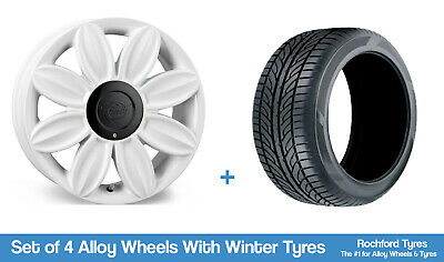 """Tansy Winter Alloy Wheels & Snow Tyres 16"""" For Opel Karl 15-19"""