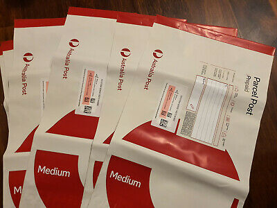 10x 1KG GENUINE AUSTRALIA POST PREPAID SATCHEL ** GST Inv Can Be Issued