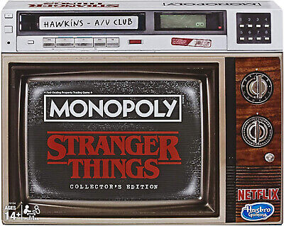 Monopoly Game Stranger Things Collectors Edition Board Game Kid Toy Gift