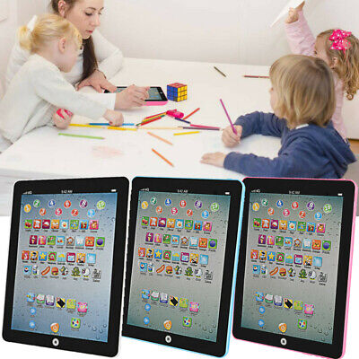 Baby Kids Earlly Learning Tablet IPAD Educational Toys Gift Girl Boy Toddler US
