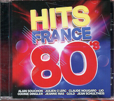 Hits France 80'S - Compilation  Cd 20 Titres - Neuf New