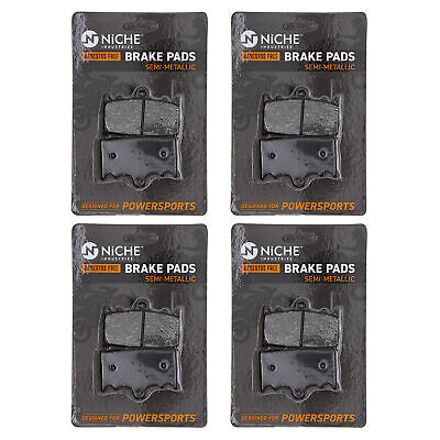 NICHE Brake Pad Set Suzuki Boulevard Intruder 1500 Rear Semi-Metallic 4 Pack