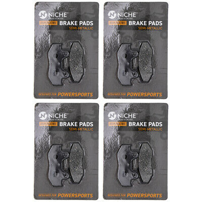 NICHE Brake Pad Set Suzuki Burgman AN400S 69100-14890 Rear Semi-Metallic 4 Pack